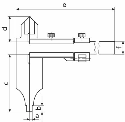 Slika Workshop calipers MarCal 18 DN