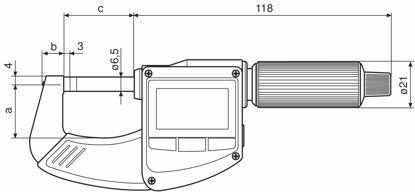 Slika Digital Micrometer Micromar 40 EWR