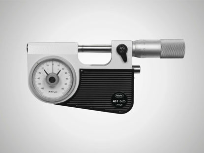 Slika Micrometer with integrated dial comparator Micromar 40 F