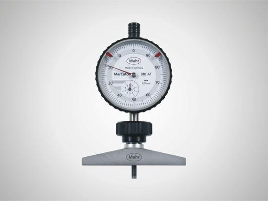 Depth gage for dial indicators MarCator 837