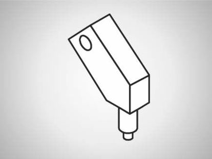 Slika UK-C Swivel element, compact, 30°-L125-type C