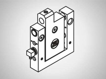 Slika FP15 Block element w. 2 rot. str. bearings, stroke 6
