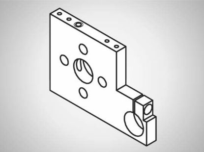 Slika PR776 Excenter adapter plate for stroke ±7