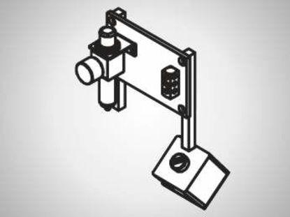 Slika FP15 Pneumatic supply unit with flip switch