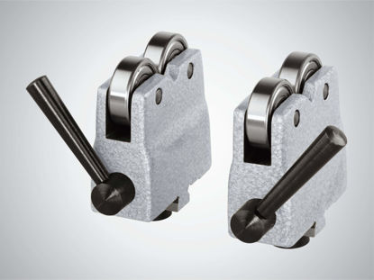 Slika 818 ab Roller supports in pairs