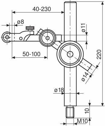 Slika Post and support assemblies 815 XMA