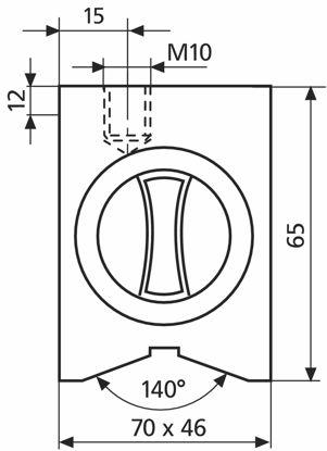 Slika Magnetic base 815 YM