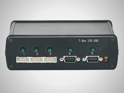Slika T-Box 205 USB Interface to connect to measuring instruments to the keyboard input jack of a IBM compatible PC