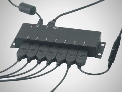 Slika USB-Hub 7-fold industrial model