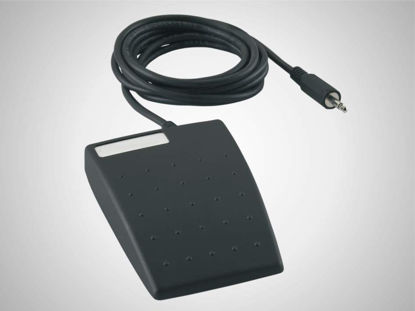Slika 16 ESf Foot switch to trigger data transmission