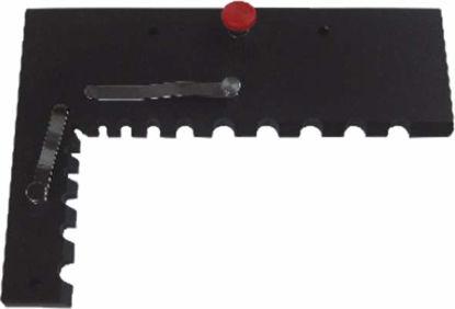 Slika 220 as90-1 90° stop for table 400x250 mm